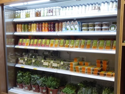 Commercial refrigeration product - display cases