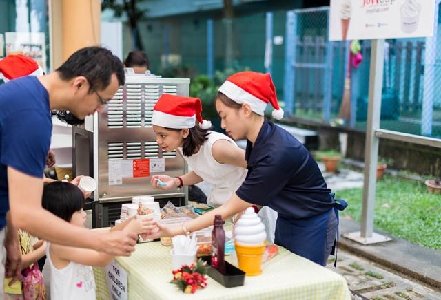 Soft Serve at Event - Renewal Christian Church Christmas Celebration